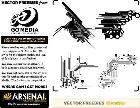 Vector Freebie: Circuitry