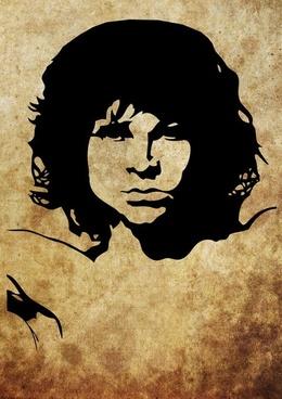 Vector Freebie: Jim Morrison