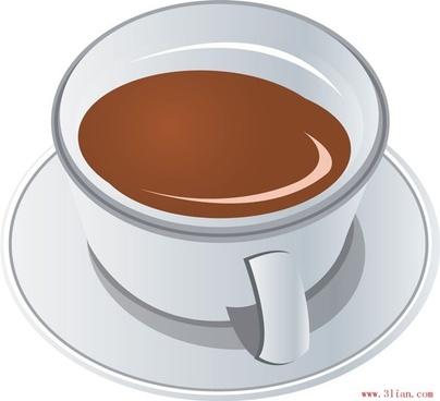 vector gourmet coffee vector