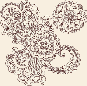 flower ornament vector free vector download 20 843 free vector for