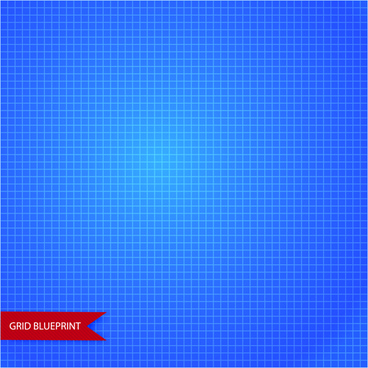 vector grid blueprint pattern design