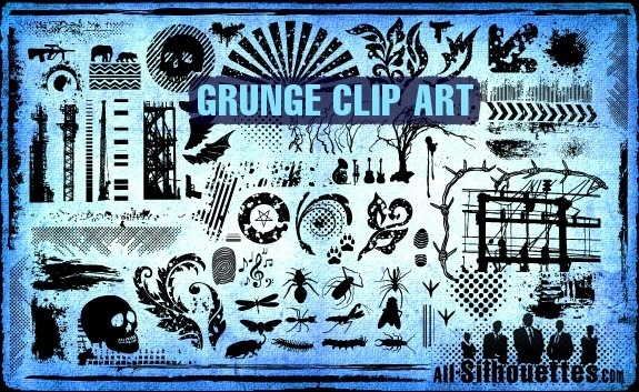 Vector Grunge Clipart