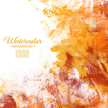 vector grunge watercolor background art