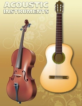 Vector Guitar and Violin