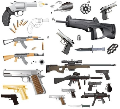 Pistol free vector download (59 Free vector) for commercial