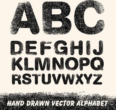 Word art design alphabet free vector download (220,499 Free