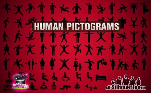 Vector Human Pictogram
