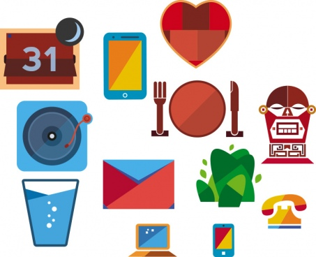 vector icons for your projects and inspiration