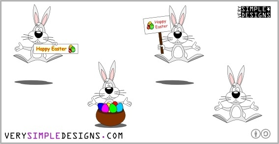 Vector Illustration: Easter Bunny