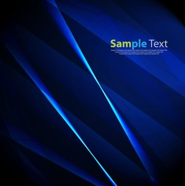 vector illustration of blue design abstract background