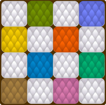vector illustration of multicolored squares background