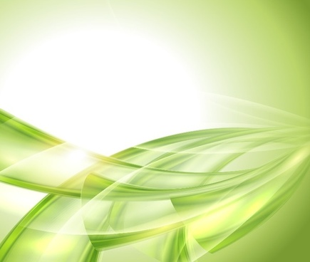 vector illustration of natural green abstract background