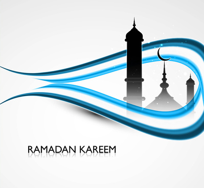 vector illustration of ramadan kareem colorful design