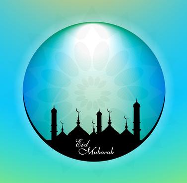 vector illustration of ramadan kareem colorful design