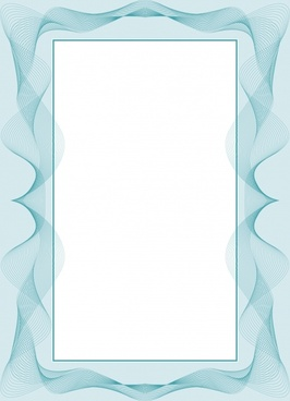 frame template 3d dynamic swirled shapes decor