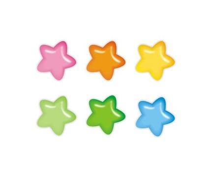 vector little star