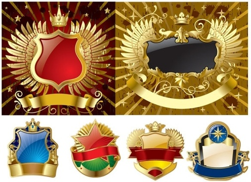 vector logo badge gorgeous