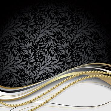 vector luxury backgrounds set