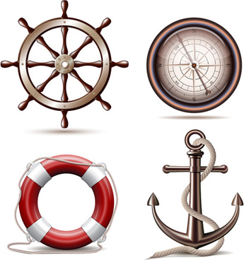 vector marine design elements