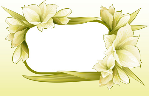 photoshop flower frames free vector download 16 535 free vector