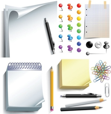 vector office supplies