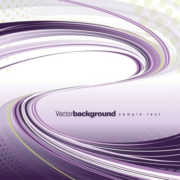 technology background violet dynamic curved lines decor