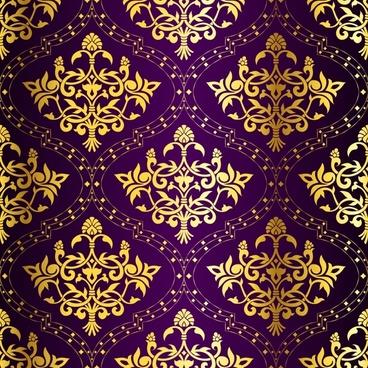 decorative pattern template elegant dark traditional repeating design