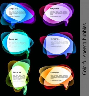 colorful modern text box template free vector download 40 412 free