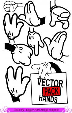 vector pack hands