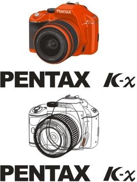 vector pentax pentax kx original