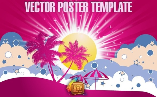 Vector Poster Template