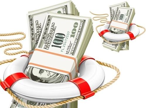 vector rope buoy dollar