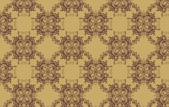 Vector Seamless Pattern-Ornament