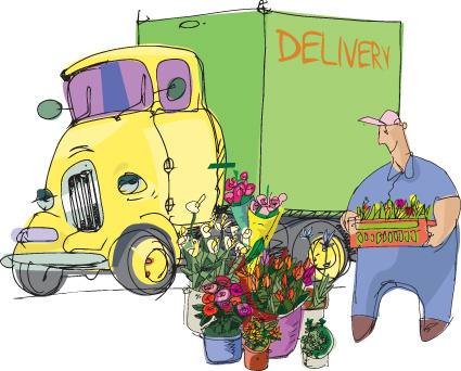 vector service delivery design elements