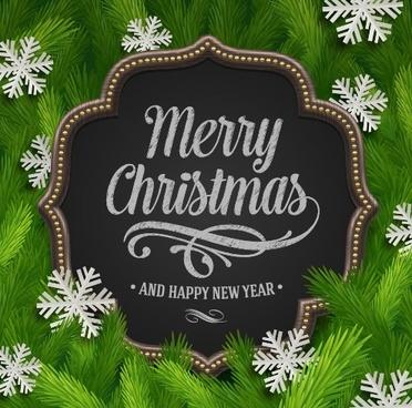 vector set of christmas background design