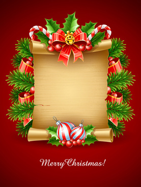 vector set of christmas cards backgrounds art - Christmas Card Online Maker Free