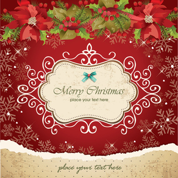 vector set of christmas cards backgrounds art