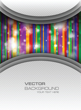 vector set of color insert background art