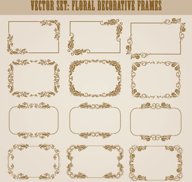 Decorative Frame Vector Free Vector Download 26059 Free Vector