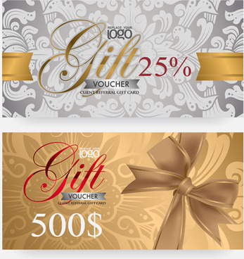 Gift voucher free vector download 2818 free vector for commercial vector set of gift voucher design elements yelopaper Images