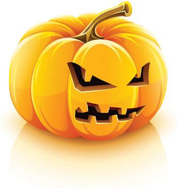vector set of halloween pumpkin design