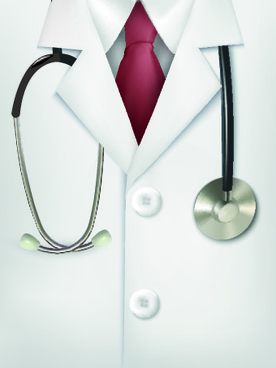 vector set of medical background illustration