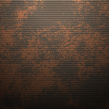 vector set of rusted metal texture background