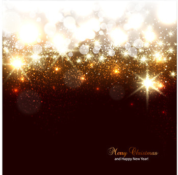 vector set of sparkling christmas backgrounds art