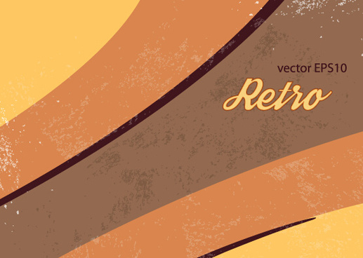 vector set retro grunge background graphics