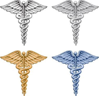 vector snake symbol design elements