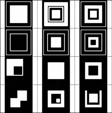 vector squares brush