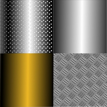 decorative background templates shiny golden grey metallic design