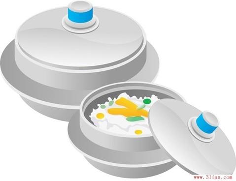 vector stew pot cuisine