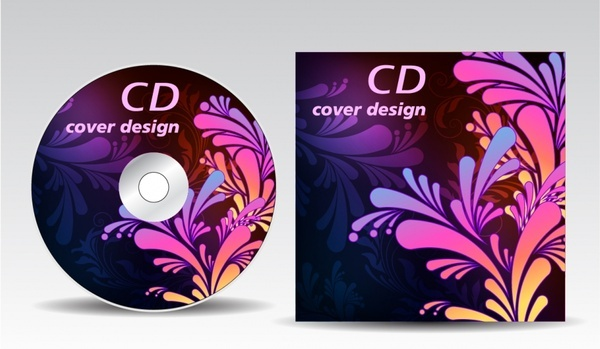 vector stickers cd case cdrom